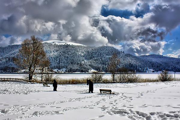 sapancada kış
